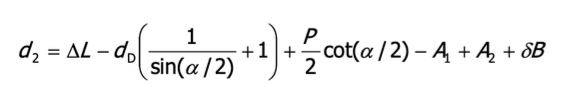 obliczanie srednicy podziałowej wzór