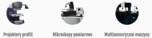 mikroskopy i projektory pomiarowe